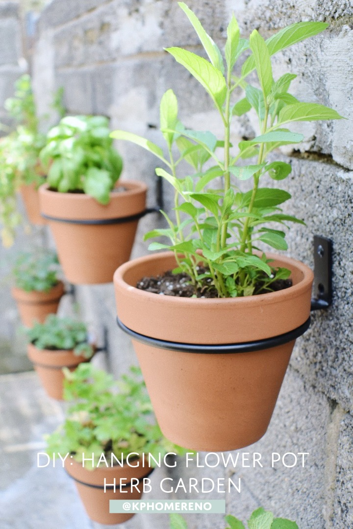 How to Make a Hanging Pot HerbGarden