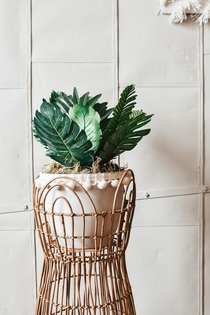 How to Turn any Container into a Cute Boho ChicPlanter